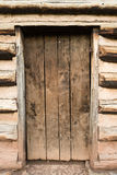 Rustic Cabin Door Royalty Free Stock Photography