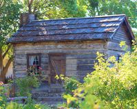 Rustic Cabin. In San Juan Bautista, California Stock Photography