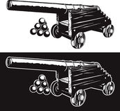 Rustic Cannon Royalty Free Stock Image
