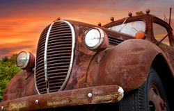 Rustic car Royalty Free Stock Photos