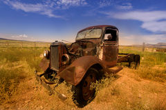 Rustic car Royalty Free Stock Image