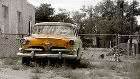 Rustic car Royalty Free Stock Images
