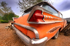 Rustic car tail end Royalty Free Stock Photography