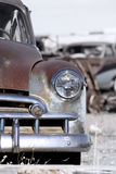 Rustic cars Royalty Free Stock Images