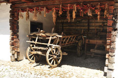 Rustic cart Royalty Free Stock Images