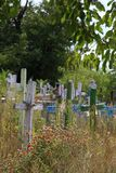 Rustic Cemetery Stock Photography