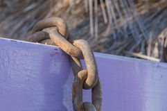 Rustic chain Royalty Free Stock Photo