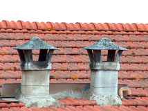 Rustic chimney Royalty Free Stock Photography