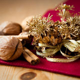 Rustic christmas decoration Stock Photography
