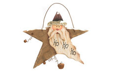 Rustic Christmas star Royalty Free Stock Photo