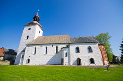 Rustic church in Tyniec nad Sleza, Poland Royalty Free Stock Photos