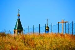 Rustic church Stock Photo