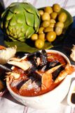 Rustic Cioppino Stock Image