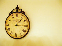 Rustic Clock Stock Photography