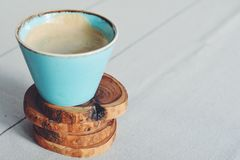 Rustic coffee royalty free stock photos