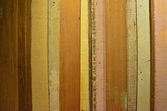 Rustic Colorful wood plank with horizontal view Stock Images