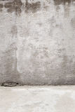 Rustic Concrete Background including the Floor/Gro. Background texture of concrete showing the ground royalty free stock photography