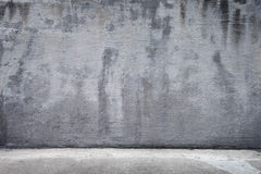 Rustic Concrete Background including the Floor/Gro. Background texture of concrete showing the ground stock image