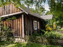 Rustic cottage Stock Image