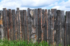 Rustic country fence Stock Photography