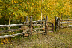 Rustic Country Fence Royalty Free Stock Photo