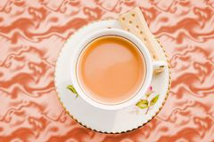 Rustic Cuppa Royalty Free Stock Image