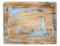 Rustic cutting board Stock Image