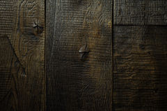 Rustic dark wooden texture background Royalty Free Stock Photos
