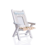 Rustic Deck Chair Royalty Free Stock Photos