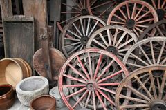 Rustic decorative objects Royalty Free Stock Image
