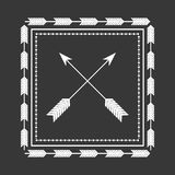 Rustic decorative style. Icon vector illustration graphic design Royalty Free Stock Photo