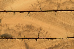 Rustic demolition wood section texture detail Royalty Free Stock Photos