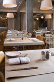 Rustic dining room Stock Photography