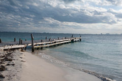 Rustic Dock Royalty Free Stock Images