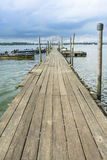 Rustic Dock Stock Image