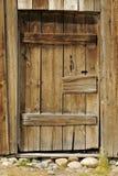 Rustic Door. Wood Rustic Door from an Old Barn royalty free stock images