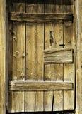 Rustic Door. Wood rustic door from an old barn stock photography