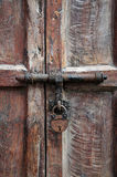 Rustic door. Close-up of old doors Royalty Free Stock Images