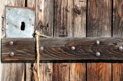 Rustic door Stock Photo