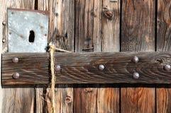 Rustic Door Stock Photo