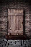 Rustic door Stock Photography