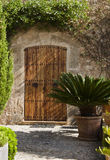 Rustic door, Majorca Royalty Free Stock Photos