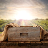 Rustic drawer Royalty Free Stock Photography