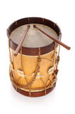 Rustic Drum with Sticks Royalty Free Stock Image