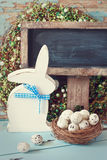 Rustic Easter. Stock Photo
