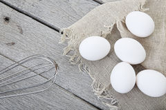 Rustic Egg Styling Royalty Free Stock Photo