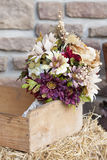 Rustic Fall Bridal Bouquet Royalty Free Stock Photos