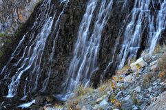 Rustic Falls - Yellowstone Royalty Free Stock Photography