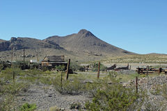 Rustic farm, New Mexico Royalty Free Stock Photo