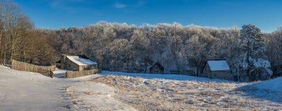 Rustic farmstead, Cumberland Gap National Park stock images